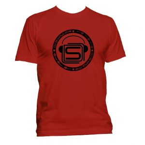 DJ ShortyLove Logo T Shirts Red